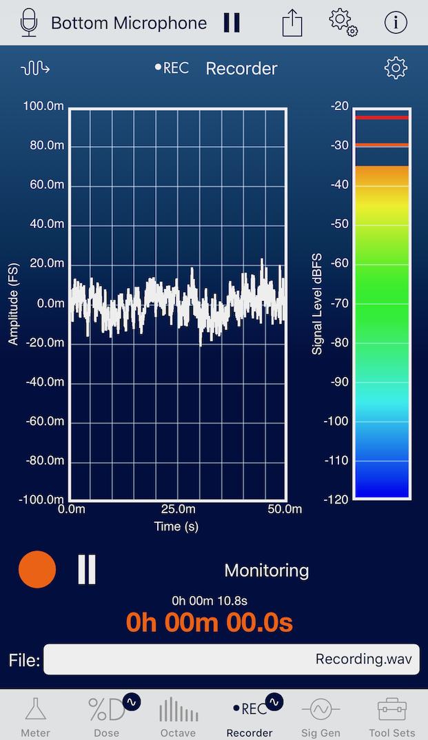 SoundMeter X for iOS