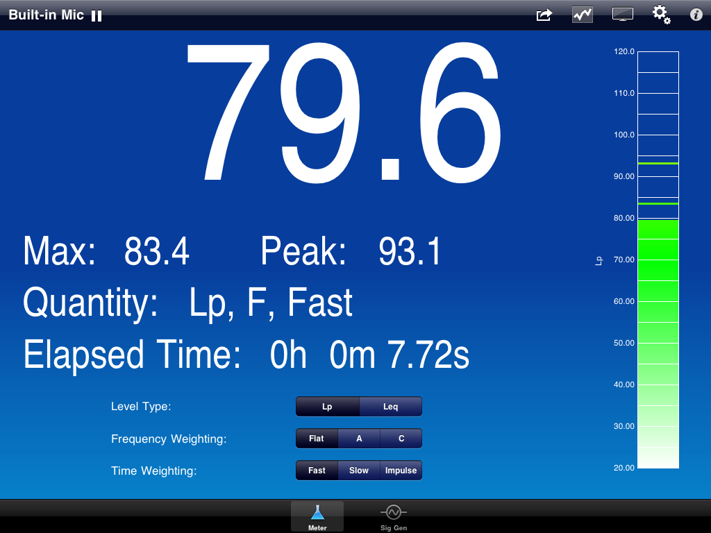 SoundMeter 2.0 Screenshot