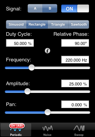 Faber Acoustical SignalSuite iPhone