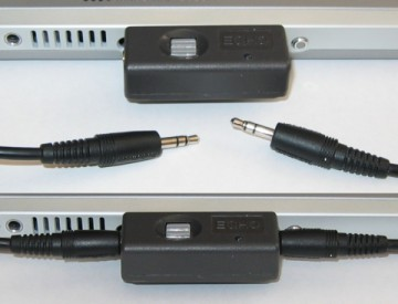 Figure 1: Stereo mini-plug patch cable