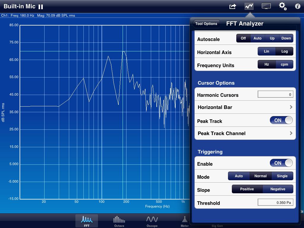 SignalScope Pro Screenshot