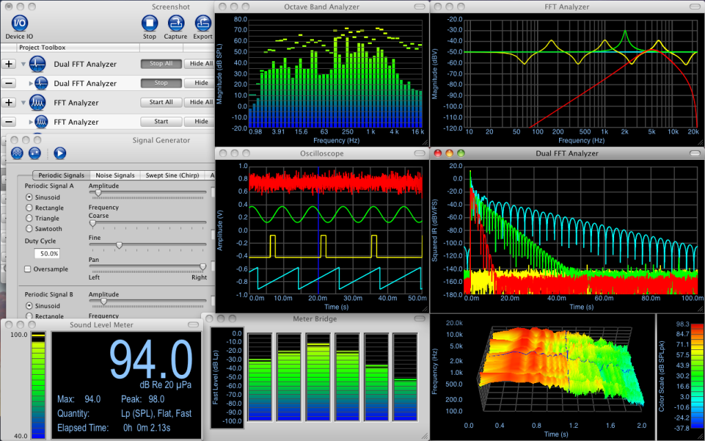 Electroacoustics Toolbox 3 Screenshot