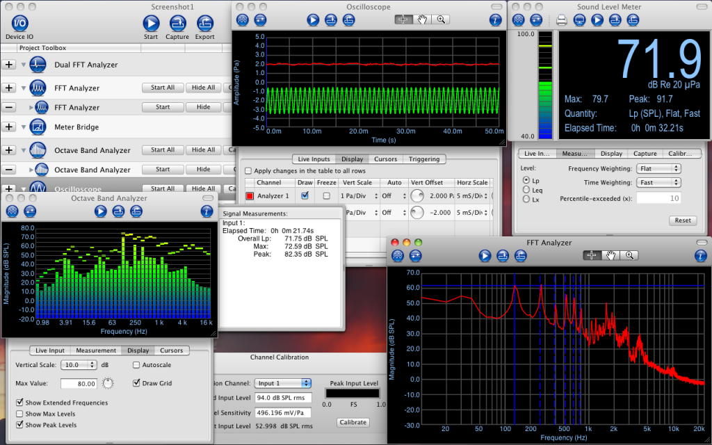 Electroacoustics Toolbox Screenshot 2