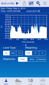 SoundMeter Pro Screenshot iPhone 2